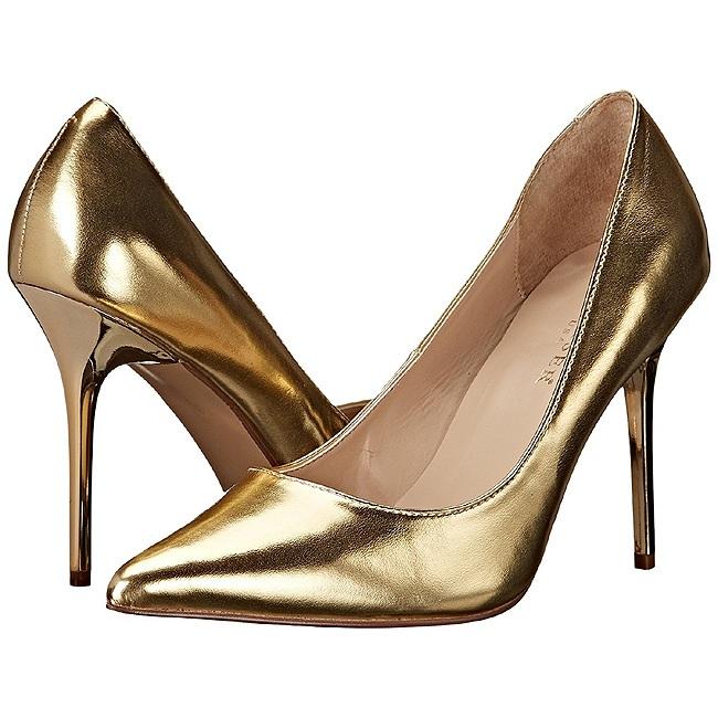 Pleaser CLASSIQUE-2 scarpe con tacchi a spillo dorato taglie 35 - 36