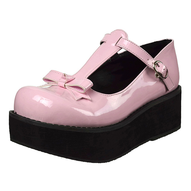 demonia SPRITE-03 scarpe gothic punk donna rosa taglie 36 - 37