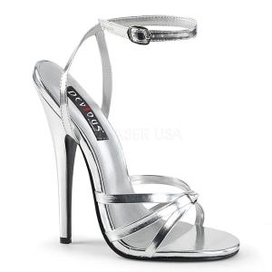 Argento 15 cm DOMINA-108 scarpe per trans