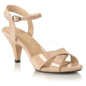 Beige 8 cm Fabulicious BELLE-315 sandali tacchi bassi