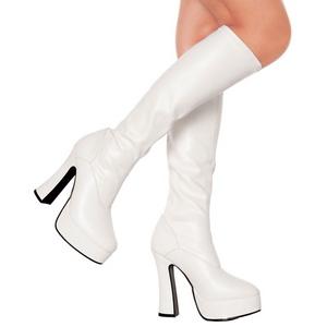Bianco Matto 13 cm ELECTRA-2000Z Stivali Donna da Uomo