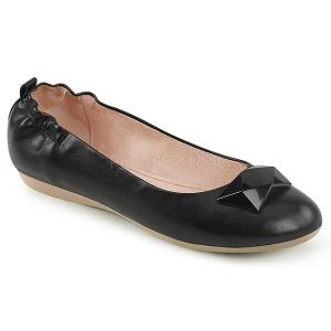 Black OLIVE-08 ballerinas flat womens shoes