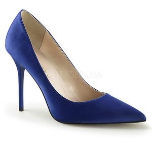 Blu Raso 10 cm CLASSIQUE-20 scarpe tacchi a spillo con punta