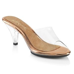 Dorato 8 cm BELLE-301 scarpe per trans