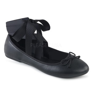 Ecopelle DEMONIA DRAC-03 ballerine scarpe basse donna