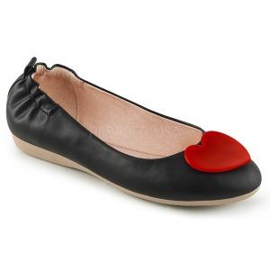 Nero OLIVE-05 ballerine scarpe basse donna
