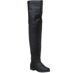 Nero Pelle 4 cm MAVERICK-8824 stivali alti numeri grandi da uomo