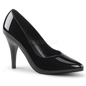 Nero Vernice 10 cm DREAM-420 scarpe décolleté con tacco alto