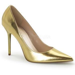 Oro Matto 10 cm CLASSIQUE-20 Tacchi altissimi da uomo