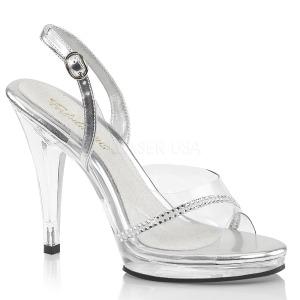 Pietre strass 11,5 cm FLAIR-456 scarpe per trans