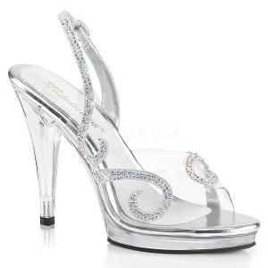 Pietre strass 11,5 cm FLAIR-457 sandali tacchi a spillo