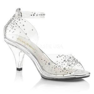 Pietre strass 8 cm BELLE-330RS scarpe per trans