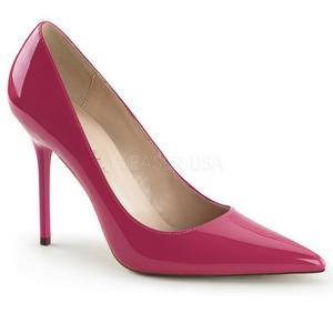 Pink Vernice 10 cm CLASSIQUE-20 scarpe tacchi a spillo con punta