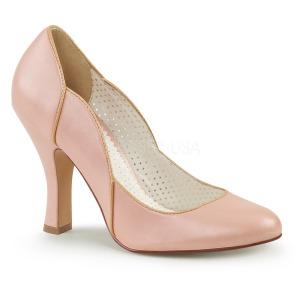 Rosa 10 cm SMITTEN-04 Pinup scarpe décolleté con tacchi bassi
