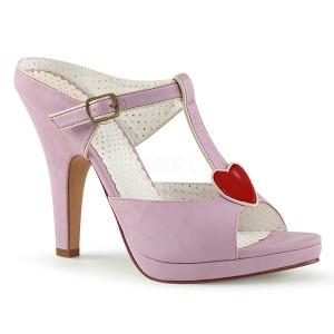 Rose 10 cm SIREN-09 Women Mules Shoes