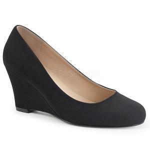 Suede 7,5 cm KIMBERLY-08 grandi taglie scarpe décolleté