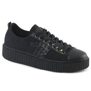Tela 4 cm SNEEKER-107 sneakers creepers scarpe da uomo