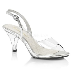 Trasparente 8 cm BELLE-350 scarpe per trans