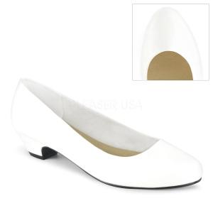 sale retailer 24a71 21459 Vegano 3 cm GWEN-01 scarpe décolleté da uomo bianco