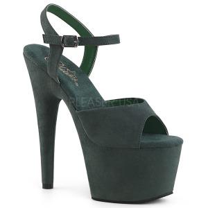 Verde Ecopelle 18 cm ADORE-709FS sandali tacchi a spillo
