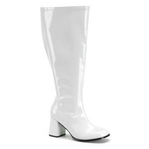 Verniciata 7,5 cm GOGO-300X Stivali da donna con gambale largo