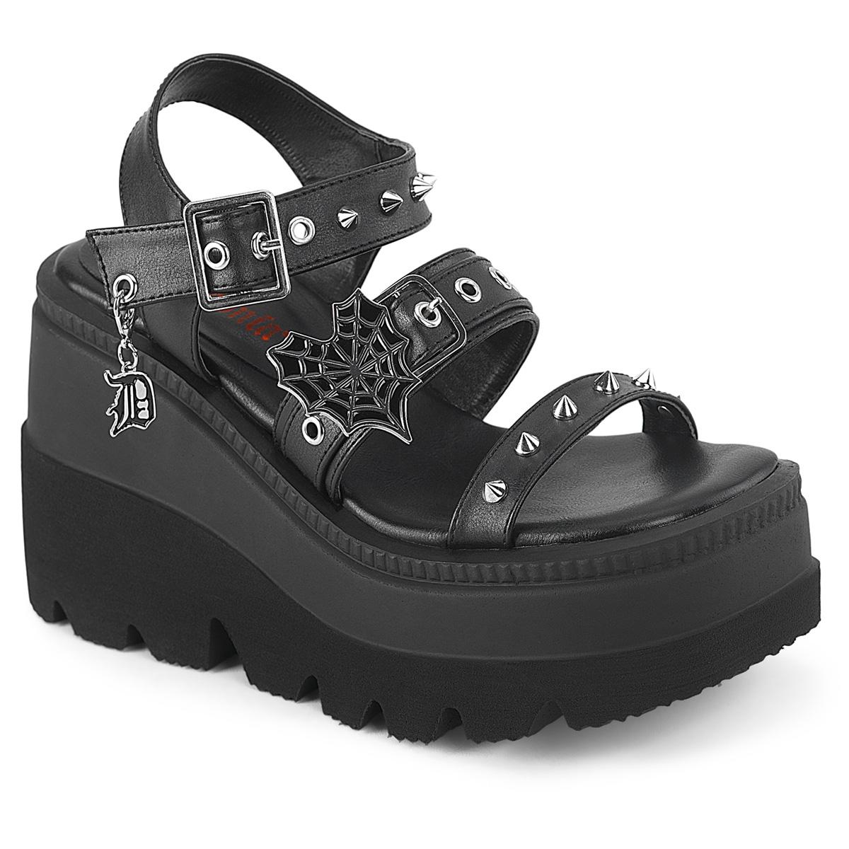 autentico c6155 f479f Argento 11,5 cm CELESTE-09 sandali con tacco largo e plateau glitter