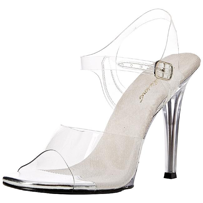 08 Tacco Bianco Con 5 11 Sandali Cm Da Cerimonia Gala Fabulicious pzVGLqMSU