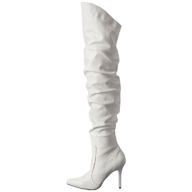 Bianco Ecopelle 10 cm CLASSIQUE 3011 Stivali alti e sopra al ginocchio