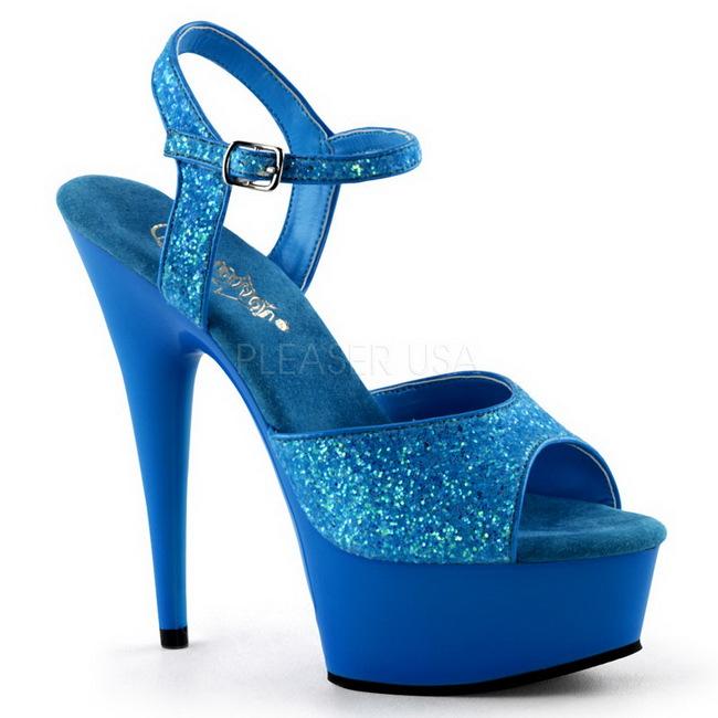 Scarpe Tacco 15 Blu