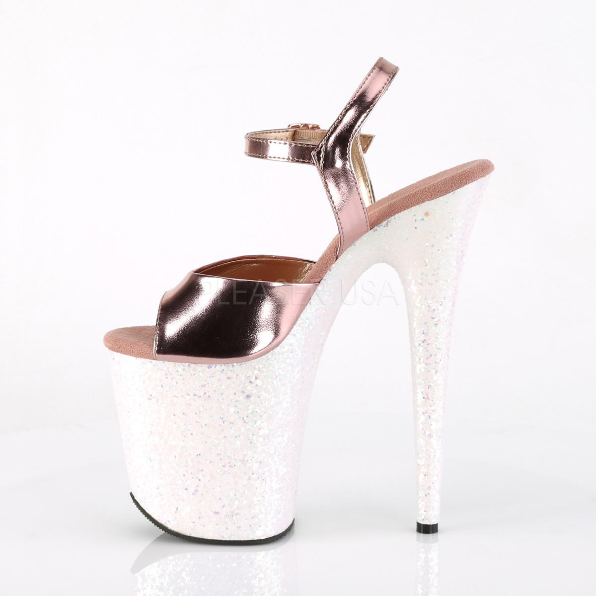new arrival cf601 12274 Dorato scintillare 20 cm Pleaser FLAMINGO-809LG scarpe da cubista e  spogliarellista