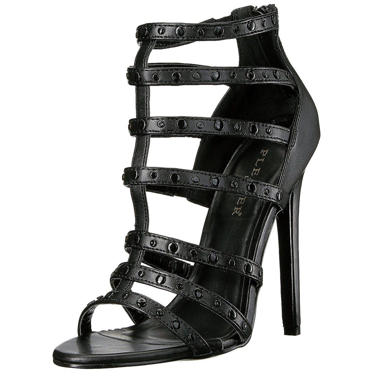 Matto Tacco Con Nero Cm High Sandali 15 13 Heels Sexy I7myb6vfgY