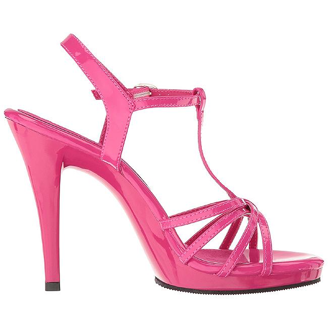Rosa Vernice 12 cm FLAIR 420 scarpe tacco alto numeri grandi per uomo