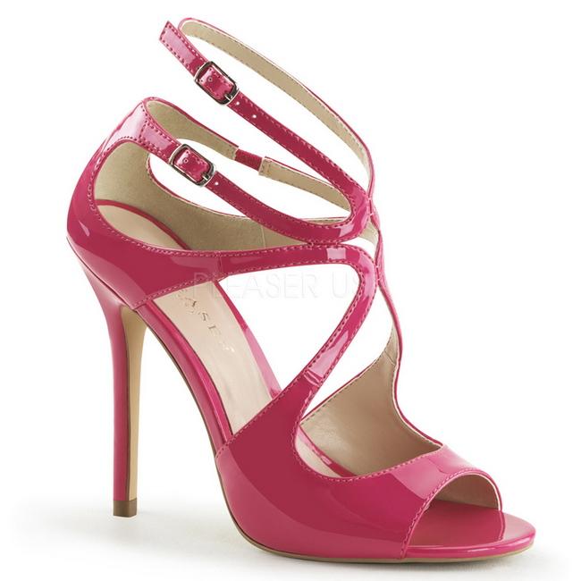 Con Sera Vernice Amuse Rosa Tacco Alto Sandali 15 Cm 13 Da IYW2HDE9