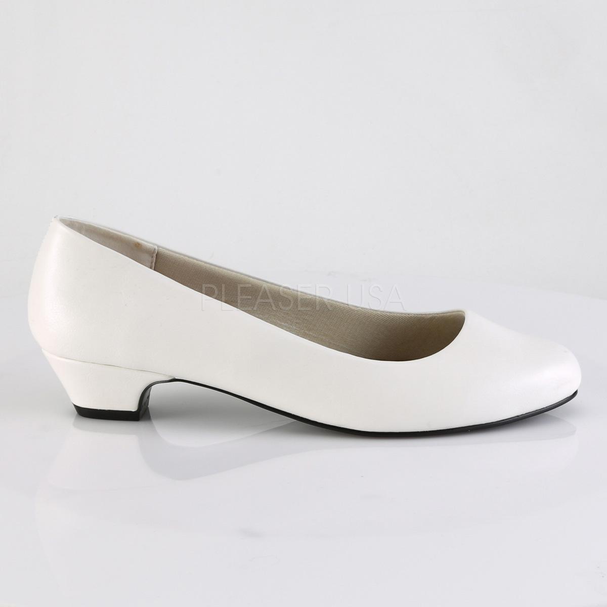 sale retailer 7c631 7f5db Vegano 3 cm GWEN-01 scarpe décolleté da uomo bianco