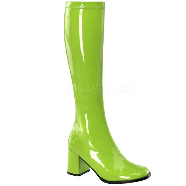 Verde Verniciato Funtasma 8,5 cm Funtasma Verniciato GOGO 300 Stivali Donna b89482