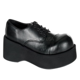 Black 8,5 cm DANK-101 lolita gothic platform shoes