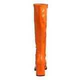 Arancia Verniciato 8,5 cm Funtasma GOGO-300 Stivali Donna