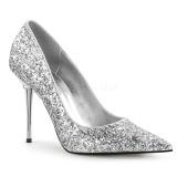 Argento 10 cm APPEAL-20G scarpe décolleté con tacchi a spillo metallo alto