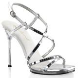 Argento 11,5 cm CHIC-09 Sandali Tacchi a spillo scarpe