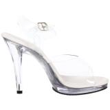 Argento 11,5 cm FLAIR-408 Sandali Donna con Tacco