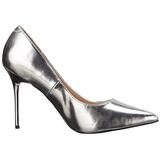 Argento Matto 10 cm CLASSIQUE-20 scarpe tacchi a spillo con punta