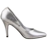 Argento Matto 10 cm VANITY-420 scarpe décolleté a punta elegante