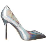 Argento Matto 13 cm AMUSE-20 scarpe tacchi a spillo con punta