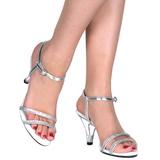 Argento Scintillare 8 cm BELLE-316 Sandali Donna con Tacco