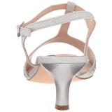 Argento Strass 6,5 cm AUDREY-05 Sandali da Sera con Tacco Alto