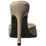 Beige 10 cm CLASSIQUE-01 ciabatta donna tacco basso