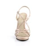 Beige 11,5 cm FLAIR-413 Sandali Fabulicious Tacco Altissimo