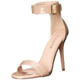 Beige 13 cm AMUSE-10 scarpe per trans
