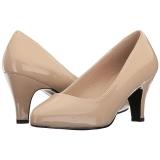 Beige 8 cm DIVINE-420W High Heel Pumps for Men