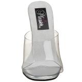 Bianco 11,5 cm FABULICIOUS GALA-01 ciabatta donna tacco basso